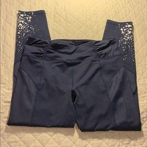 BETSY Johnson Splatter print legging Size M